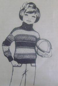 пуловер 005