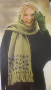 шарф 002